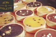 Trés Bien! Grab 12 Gourmet French Patisserie Tarts from Remy & Violette Patisserie for Just $20! Flavours Incl. Lemon Curd, Salted Caramel & More
