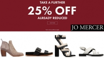 Treat Yourself to the Jo Mercer Sale! Enjoy a Further 25% Off Already Reduced Items! Ft. Suede Ash High Heel Sandal, Leather Jaffa Low Heel & More