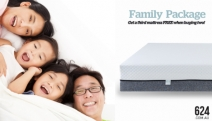 Have the Whole Family Sleep Easy w/ this Family Package Offer from 624! Buy 3 & 1 Will Be FREE! That's 3 Mattresses For the Price of 2 + Free Delivery