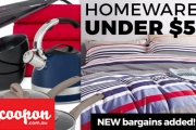 Renovate Everything in Your Home w/ the Homewares Sale! Everything Under $50. Shop Bedding, Appliances, Dinnerware, Candles & Much More
