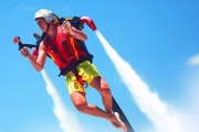 Blast Off with a 45-Min Jetpack, Jetboard or Jetbike Water-Powered Flight Adventure! Incl. 30-Min Training, 15-Min Solo Air Time & More! 2 Locations