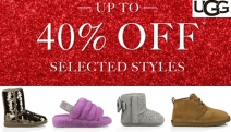 Make the Most of Ugg's Mega-Sale w/ Up to 40% Off Select Styles! Shop this Collection for Kids, Infants, Men & Women Incl. Slip-Ons, Booties & More