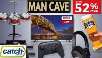 No Man Cave is Complete without these Man Cave Must-Haves! Ft. Up to 52% Off Cards Against Humanity, Jack Daniel's Shot Glasses, Disco Nightlight & More