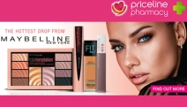 Fill Your Cosmetics Bag w/ the Hottest Drop from Maybelline w/ 3 for 2 Products at Priceline! Shop Eyeshadow Palettes, Total Temptation Kits & More