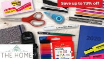 Stock Up on School & Office Essentials with Up to 73% Off Top Brand Stationery Supplies! Shop Faber-Castell, Crayola, Derwent, 3M Post-Its & More