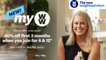 Struggling to Lose Weight? Shed the Weight Easier w/ Weight Watchers! Get 40% Off Your First 3 Months on 6 & 12 Month Plans. No Joining Fee. T&Cs Apply