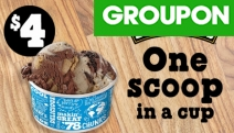 Get Your Scoop of Delightful Ice Cream Flavours from Ben & Jerry's! 1 Scoop in a Cup from $4 or 2 Scoops + Brownie from $7.80. Multiple Locations