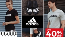 Work on those New Year's Resolutions w/ Brand New Adidas Activewear! Shop Up to 40% Off Slides, Men's Shorts, Women's Tights, Accessories & More