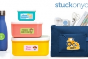 Back-to-School Will Be Easy with Stuck on You! Avoid Lost Items & Grab Personalised Name Labels for School Bags, Lunch Boxes, Shoes & More