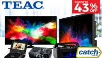 Get Smart Essentials for Less w/ Up to 43% Off TEAC Home Entertainment Megastore! Something for Everyone - Smart LED TVs, Portable DVD Players & More!