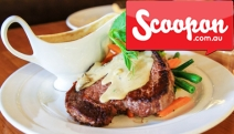 Warm Up Your Belly w/ a Hearty Mod Oz Lunch or Dinner + Drinks for 2 @ Errol's! Enjoy Black Angus 250g Scotch Fillet, Open Lamb Wrap + More