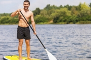 Enjoy Beautiful Manly from the Water while Exercising w/ a Two-Hour Kayak or Paddle Board Hire at Manly Kayak Centre. Instruction Provided