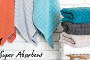 Update Your Bathroom w/ the Stylish Conran Soho Towel Collection. Super Absorbent in a Range of Stunning Colours That Feel as Good as They Look!