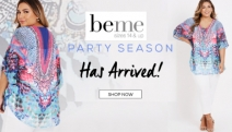 Celebrate Your Curve Appeal with the Party Season Edit from Beme! Stand Out on Any Occasion with Jumpsuits, Kaftans, Dresses, Accessories & More