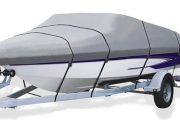 Skipper, Protect Your Pride & Joy with a Heavy-Duty Universal Trailerable Boat Cover from Just $59! Three Sizes. Great for Storage & Transportation