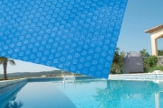 Protect Your Pool Year Round with a Solar Pool Cover! Reduces Evaporation, Water & Electricity Cost, Chemical Usage & More. Upgrade for Pool Roller