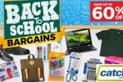 Get the Kids Back to School Ready for Less! Save Up to 60% Off School Essentials Like Stationery, Lunchboxes, Backpacks, Shoes & More! Plus P&H
