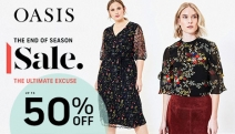 Shopaholics, Rejoice! Get Up to 50% Off the Oasis End of Season Sale - The Ultimate Excuse to Shop! Perfect Your OOTDs w/ Skirts, Dresses & More