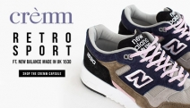 Shop Fresh New Kicks w/ Crèmm's Curated Collection of Retro Sport Sneakers! Think New Balance Made in UK 1530, Lacoste Mens Court Master & More