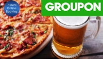 Treat Yourself & a Mate to a Hearty Pub Feed with Choice of Burger or Pizza with Beer or Wine at Collector Bushranger Hotel! Upgrade for Groups of 4