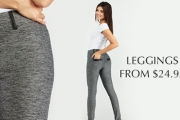 Stay Comfy & Stylish with a Pair of Stretchy Leggings by Paulo Connerti from Just $24.95! Plus P&H. Feat. Stylish Look & Curve-Flattering Fit