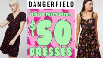 It's Party Time and Dangerfield Have You Covered with Dresses for $50! Huge Range of Playful and Unique Styles, Prints & Colours to Choose From