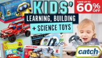Let Your Little One Enjoy Hours of Indoor Fun w/ the Kids' Learning, Building & Science Toys! Up 60% Off Leapfrog, Construct It, Lego, Vtech & More