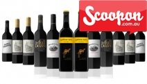 Get Your Hands on the Ultimate Winter Warmer w/ a Dozen Mixed Aussie Red Wines w/ Free Delivery from Coffee & Wine Co! Yellow Tail Shiraz & More