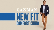 Look Great from Desk to Drinks w/ Modern & Comfort Chinos from GAZMAN! From Just $69, Shop Styles to Suit Every Occasion + Great Range of Colours