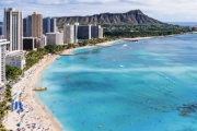 HAWAII 6N at Hawaii's Hottest New Hotel, Waikiki Beachcomber by Outrigger! Heart of Waikiki Beach. Ft. Beer Tasting Paddle & More. 1 Child Stay Free