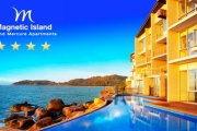MAGNETIC ISLAND QLD Enjoy Tropical Paradise with a 5-Night Stay for 2 at the Grand Mercure. Incl. Breakfast Hamper, Bottle of Wine & More