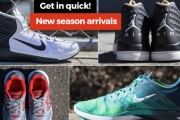 Be Ready for Action with the Nike Footwear Sale! Shop New Season Arrivals for the Whole Family in a Range of Styles & Colours. Plus P&H