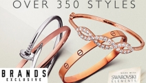 Experience Elegance & Style with this Bangles & Bracelets Sale! Shop Swarovski Elements, Leather Bracelets, Infinity Bangles & Much More. Plus P&H