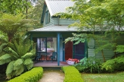 DANDENONG RANGES, VIC Romantic 2 Night Stay for Two @ Luxury, Award-Winning Cottages Monreale. Incl. Brekkie Hamper, Bubbly, Spa, Wood Fire & More