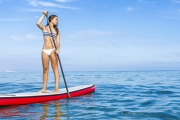 Make a Splash w/ a 90-Minute Stand Up Paddle Boarding Lesson w/ Guided Tour from West Oz Kiteboarding! Located 35-Min South of Perth in Shoalwater