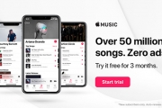 Don't Be Caught Without Your Tunes! Apple Music Lets You Listen to Over 50 Million Songs, Completely Ad-Free! Start Your Free 3-Month Trial Today