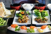 Belly Busting 7-Dish Japanese Tasting Menu for 2 at Zorizo Japanese Restaurant! Think Prawn Gyoza, Tempura, Salmon Sashimi, Yakiniku Beef & More