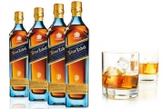 Lift Your Spirits & Stock Up w/ 4 Bottles of 200ml Johnnie Walker Blue - Smooth with a Combination of Full, Rich Flavours. Variable P&H