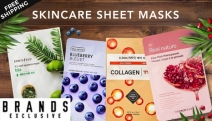 Find Your Glow w/ Skincare Sheet Masks! Shop Etude House Therapy Mask w/ Collagen, Papa Recipe Bombee Honey Mask, Nature Republic Mask w/ Acai & More