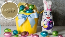 Hop, Skip & Jump into Easter w/ a Range of Gift Hampers from Gourmet Basket! Ft. Hand-Selected Hampers to Meet Every Taste & Budget. Egg Bucket & More