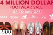 Ladies & Gents Don't Miss Out on this Mega $4 Million Footwear Clear Out! Enjoy Up to 66% Off ASICS, Adidas, Nike, Birkenstock & Lots More. From $3