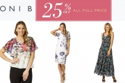 Ladies, Update Your Wardrobe for Less w/ 25% Off All Full Price Items at Noni B PLUS Receive a $25 Gift Card w/ Promo Code SR17VIP
