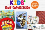 Brighten Up Your Child's Room with the Kids' Rug Superstore! Shop a Range of Fun & Colourful Designs from $29.99 Ft. Spaceship, The Wiggles & More