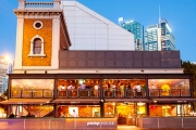 Head to the Historic Pumphouse Bar & Restaurant in Darling Harbour for Pizza & Drinks for 2! Incl. Bottle of Wine to Share or Paddle of Craft Beers Each
