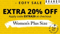 Shop Your Fave Brands for Less w/ the Massive Plus Size EOFY Clearance! + Get a Further 20% Off Already Reduced Prices. City Chic, Nautica & More