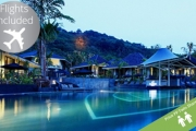 PHUKET w/ FLIGHTS Stay 6 Nights Submerged in Lavish Greenery & Natural Waterfalls at Mandarava Resort & Spa! Incl. Brekkie, Spa  Discounts & More