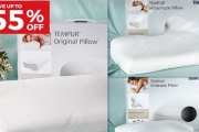 Give Your Sleeping Experience a Premium Upgrade w/ the New Tempur Ergopedic Pillows! Save Up to 55% Off a Range of Designs for Comfort & Support