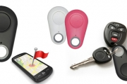 Never Lose Your Keys Again! 4-in-1 Bluetooth Anti-Loss Keychain Tracks Your Phone, Luggage & Parked Car, Plus Use as a Selfie Remote & More. Plus P&H