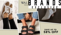 Put a Spring in Your Step with Fashionable Walnut Footwear for Women & Kids! Save Up to 58% Off Heeled Boots, Sneakers, Flats, Kid's Boots & More