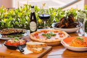 Settle in for Sensational Waterfront Dining @ Baia the Italian! Get $60 to Spend on Food & Drinks for $29! 350g N.Y. Sirloin, Grilled Barramundi & More